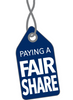 Fair Share Project - T-shirt - The Black Tee Shack
