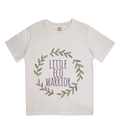 Little Eco Warrior - Organic Junior Tee - Eco Tee Shack
