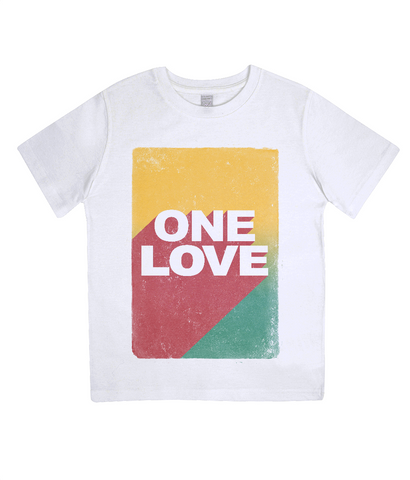 One Love - Junior Organic Tee - Eco Tee Shack