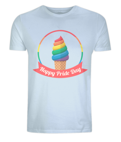Happy Pride day - Unisex T-shirt - Eco Tee Shack
