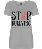 Stop Bullying - Women's T-shirt - Eco Tee Shack