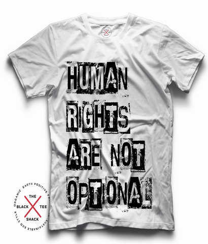 Human Rights - Equality Organic T-shirt - Eco Tee Shack