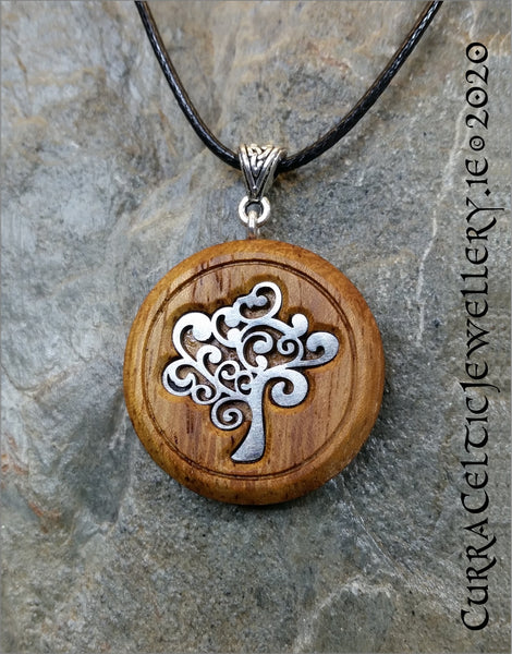 'Hippy' Tree of Life on Iroko hardwood. Special introductory price!