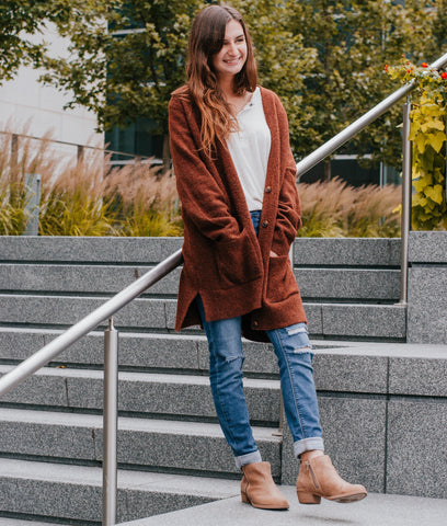 Top 3 Tips for Styling a Long Cardigan