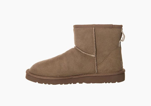 UGG Beige Suede Boots for Men