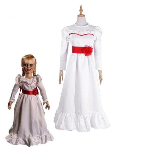 Annabelle Cosplay Halloween Costume