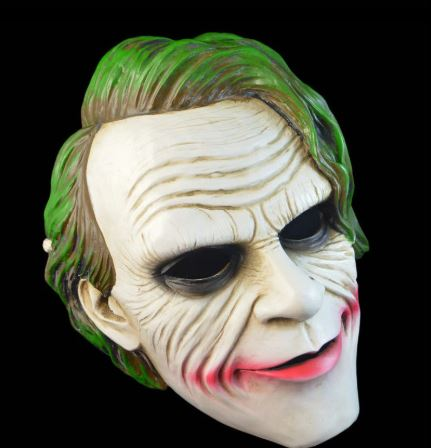 Arthur Fleck's DC Cosplay Halloween Joker Mask