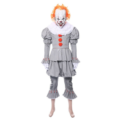It Chapter 2 Pennywise Cosplay Clown Costume With Mask