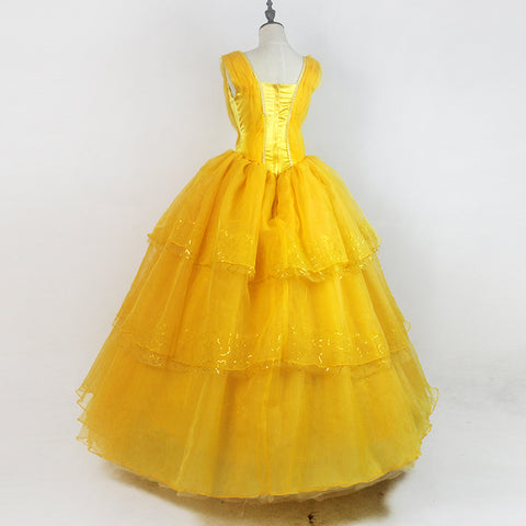 Beauty And The Beast Princess Belle Cosplay Costume