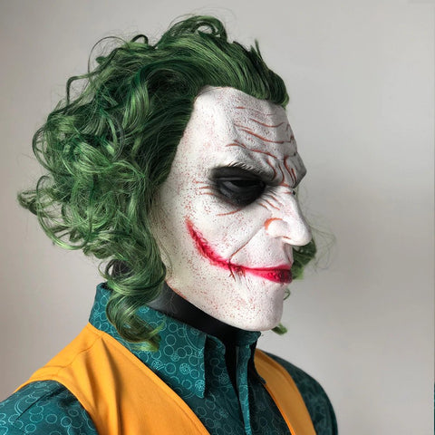 The Dark Knight Joker Clown Halloween Mask