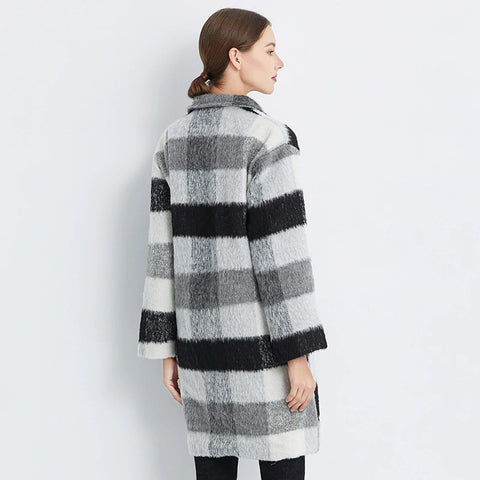 Cashmere Trench Thick Warm Winter Coat