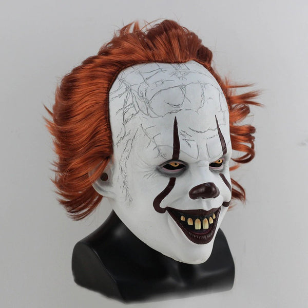 Joker Pennywise Stephen King It Chapter 2 Mask