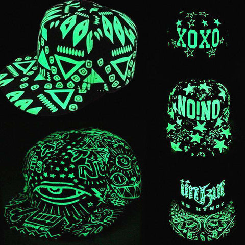 Lighted Hat Letters Snapback Unisex