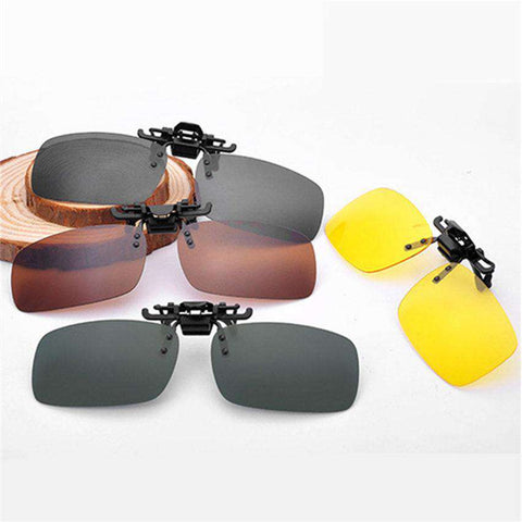 Men Retro Flip Up Polarized Sunglasses