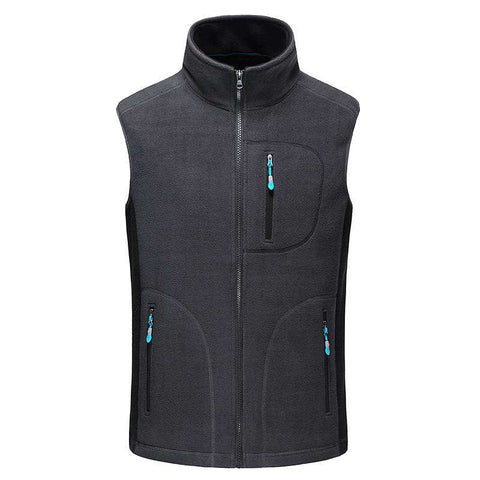 Casual Slim Zipper Short Vest Jacket men's