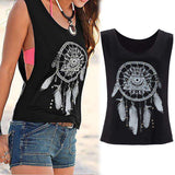 Sale Fashion Summer Women Summer Loose Casual Tee Sleeveless Vest