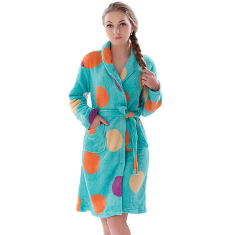 Nightgown Kimono Sleepwear Robe For Lady