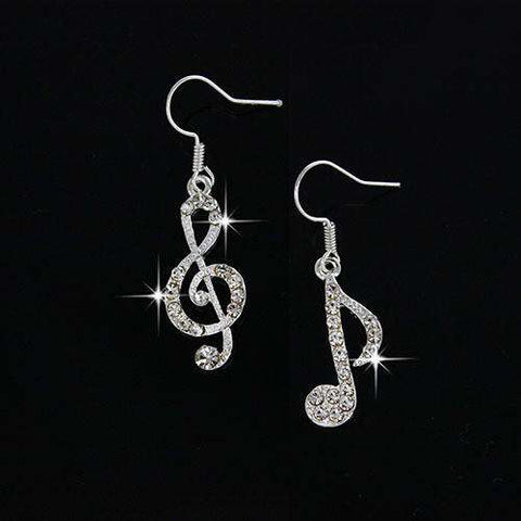 Drop Earrings Fashion Accessories Crystal Dangle Jewelry Women