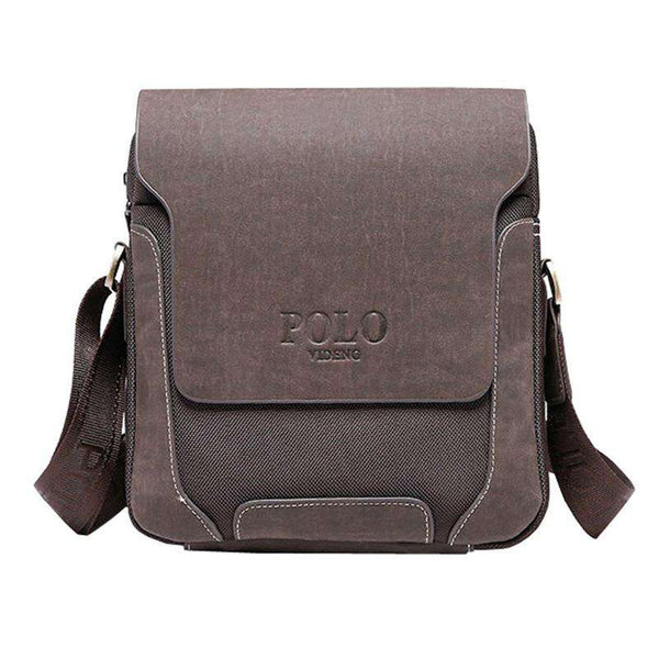 casual men's leather Shoulder Bag men travel bags
