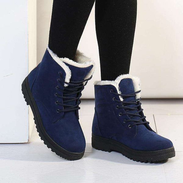 New Snow Boots Winter Women Fashion