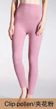 Cashmere Knitted Female Winter Woolen Leggings