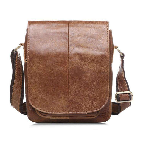 Genuine Leather Crazy Horse Cowhide Men Bags