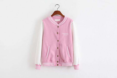 Baseball Jacket Bomber Women
