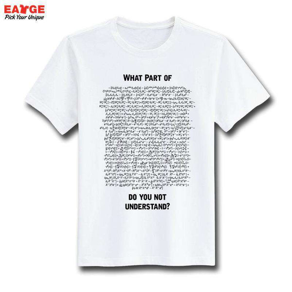 casual T Shirt Fashion White O-neck Men