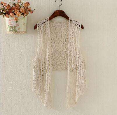 Beach Boho Hippie style Crochet crop top
