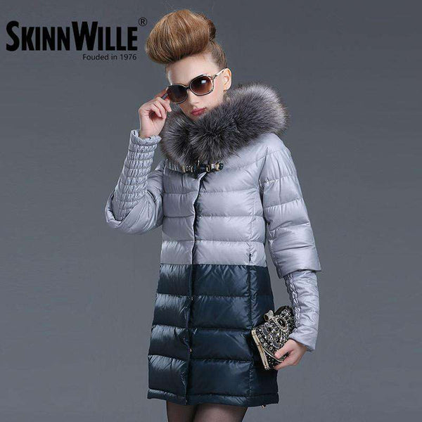 coat Women's Hooded Warm Jacket