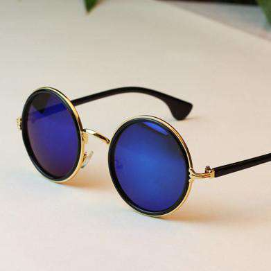 Glasses Women Fashion Retro Roundness