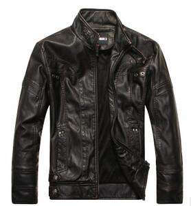 leather Jackets Men Autumn Winter casual Coats