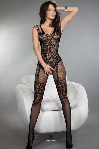 Crotch Tights Nightwear lace women sexy body stocking