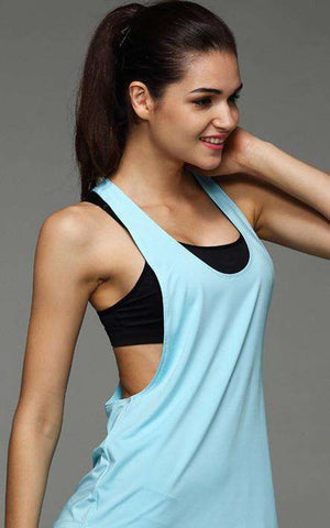 Quick Drying Breathable Fitness Sleeveless Workout Tank Top