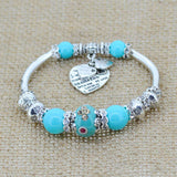 Glass Beads Strand Bracelets for Women