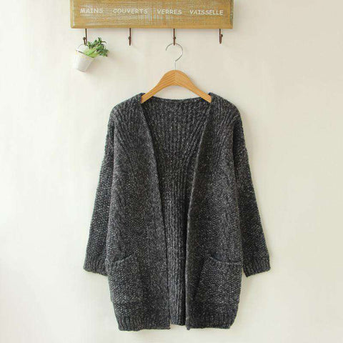 Female Long Sweater Cardigan Sweater