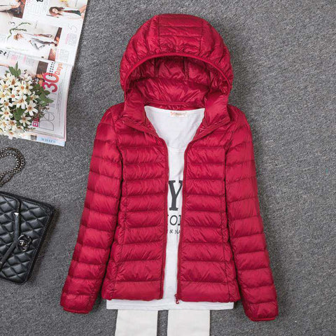 Jacket New Long Sleeved Hooded Women