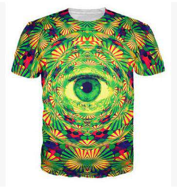 Eye 3D Printed Men T-Shirt