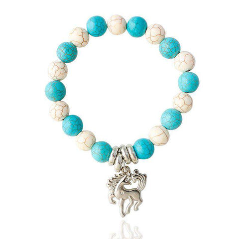 Crown & Horse Charm Bracelets For Women