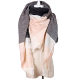 Women Multifunctional Fashion Plaid Triangle Shawls