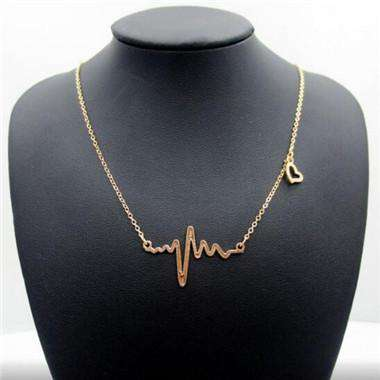 Gold chain Gold Plated Necklace For Women