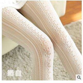 hollow out lace bars in fishnet stockings sexy lace pantyhose