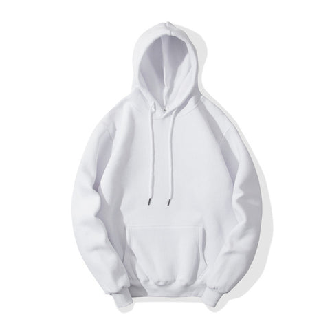 Solid Color Men's Casual Sweatshirt Hoodie