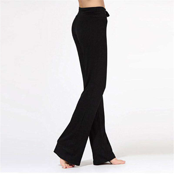 New Women Cotton Practise Exercise Lounge Long Pant Trousers