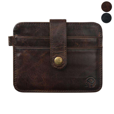 Men's Short Wallet ID Casepalm Clutch Bags