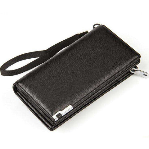 Men's Clutch Bag Long Designer Multilayer Wallets