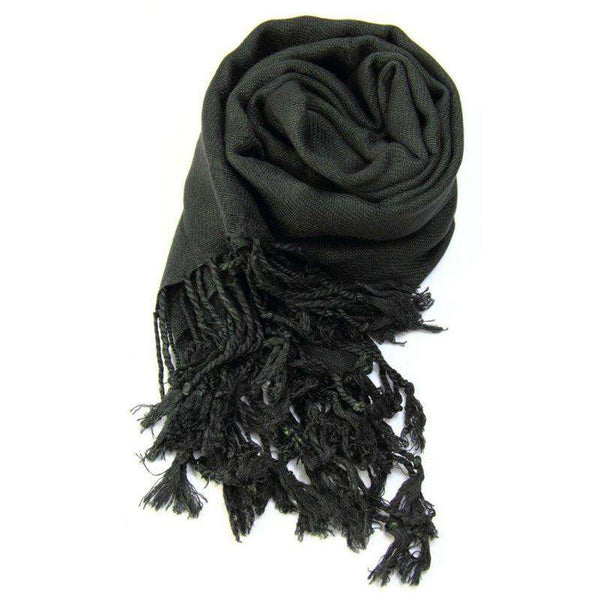 Winter Solid Cashmere Scarves Women