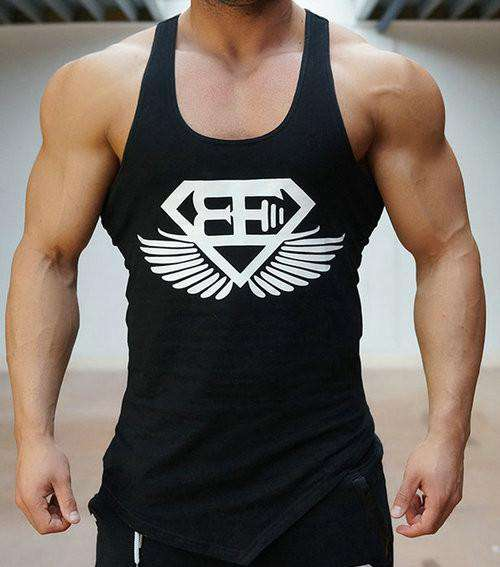 fashion cotton  sleeveless shirts tank top men Fitness shirt