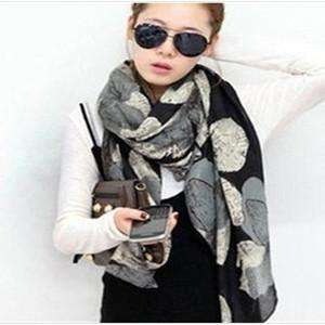 Gradient Authentic Voile Women Scarves