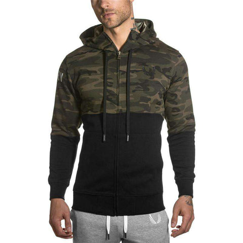 hoodies men sweatshirt belt casual